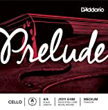 D\'Addario Prelude Cello Single A String, 4/4 Scale, Medium Tension