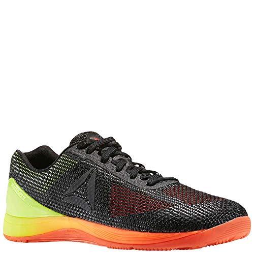 Reebok Men's CROSSFIT Nano 7.0 Cross-Trainer Shoe, Vitamin C/Solar Yellow/Black, 9.5 M US