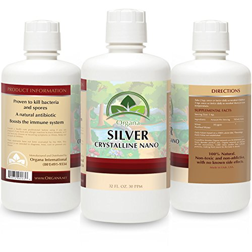 Best Silver - 30 PPM - Colloidal Silver (32oz)