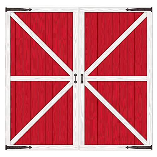 Barn Door Props Party Accessory (1 count) (2/Pkg) -