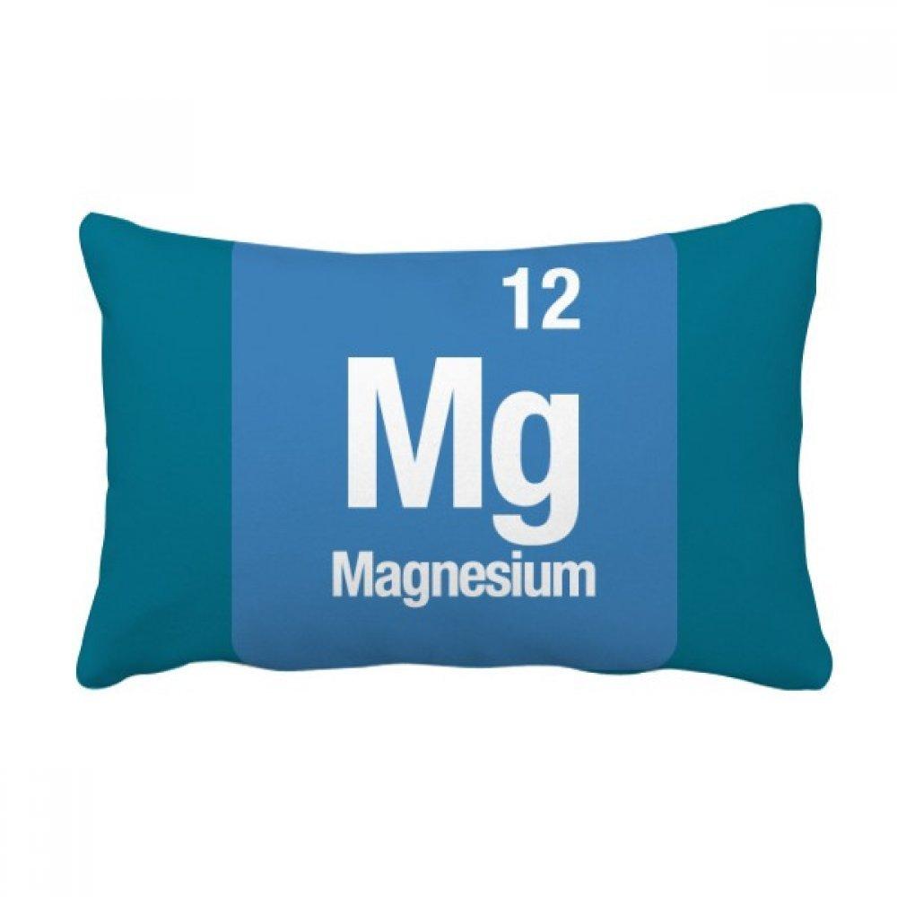 DIYthinker MG de magnesio Elemento químico Chem Tiro Lumbar de la Almohadilla Inserte la Cubierta del Amortiguador Inicio Sofá Regalo de la decoración: ...