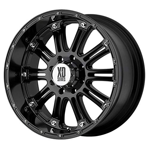 (XD Series by KMC Wheels XD795 Hoss Gloss Black Wheel With Clearcoat (20x9