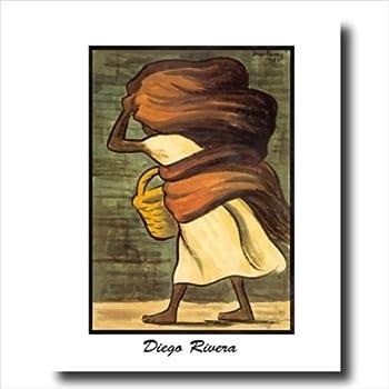 Amazon Com Diego Rivera Peasant Working Contemporary Wall