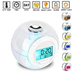 Alarm Clock for Kids,[Upgraded]SAGEME Wake Up Clock Night Light Digtal Alarm Clock Backlight Alarm Clocks for Bedrooms and Office Desk