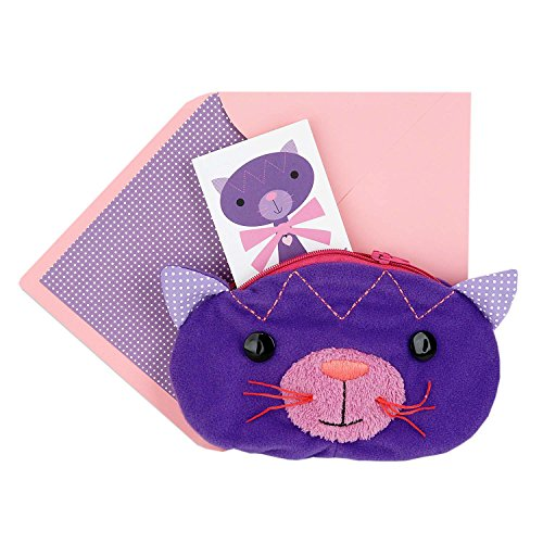 Hallmark Signature Birthday Greeting Card (Zippered Cat Pouch) ()
