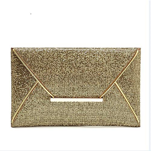 Bag Bag Bag Elegant Women's Clutch Clutch Gold Bag Color Ladies Shoulder Handbag Gold Handbag Shoulder ZHRUI Bag Bag Bag Evening Wedding Sequined daIn0q0B8