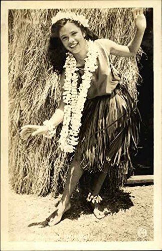 Hawaiian Girl Postcard New Unused. Nice Collection