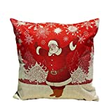 Decorative Pillow Cover - FAPIZI Christmas Sofa Bed Home Decoration Festival Pillow Case Cushion Cover (Multicolor b)