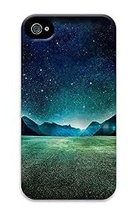 iPhone 4 4s Case, iPhone 4 4s Cases landscapes nature night 79 Custom Design PC Hard Plastics Case Cover Protector for iPhone 4 4s