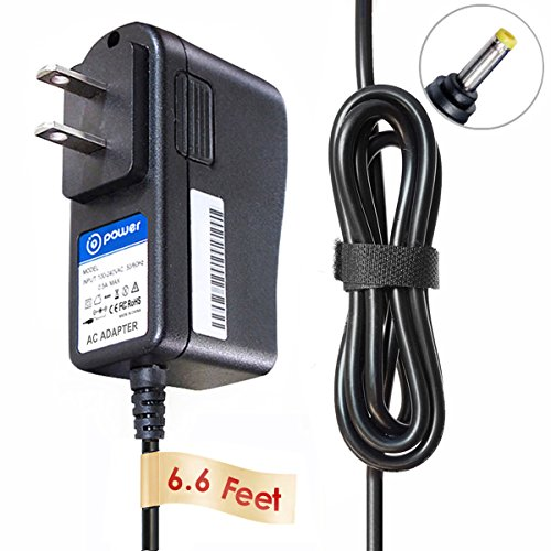 T-Power 9vdc  AC Adapter Charger for Casio Piano Keyboard AD