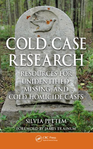 Download Cold Case Research Resources for Unidentified, Missing, and Cold Homicide Cases Pdf