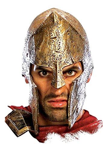 Rubie's Costume Co Deluxe. Spartan Helmet (Movie 300 Spartans Costumes)
