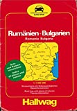 Hallwag Euro Road Map: Romania and Bulgaria
