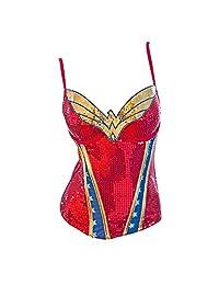 Wonderwoman Sequin Corset