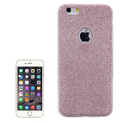 Phone Taschen & Schalen Für iPhone 6 & 6s Glitter Powder Soft TPU Schutzhülle ( Color : Rose gold )