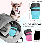 lesotc Pet Water Bottle for Dogs, Dog Water Bottle Foldable, Dog Travel Water Bottle, Dog Water Dispenser, Lightweight & Convenient for Travel BPA Free 18 OZ. 14