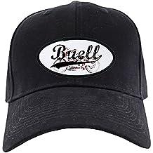 CafePress - Buell Black Cap - Baseball Hat, Novelty Black Cap