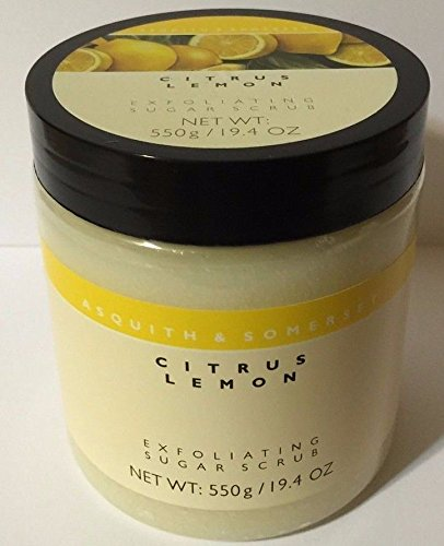 Scrub Asquith Exfoliating Somerset And - Asquith & Somerset Citrus Lemon Exfoliating Sugar Scrub by Asquith & Somerset