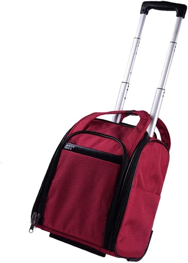 Color : Red, Size : 312137cm Travel Bags Trolley Case Mini Small Duffel Bag Boarding Luggage Suitcases Carry On Hand Luggage Durable Hold Tingting
