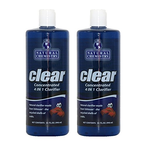 Natural Chemistry Clear 4 in 1 Clarifier (1 qt) (2 Pack)