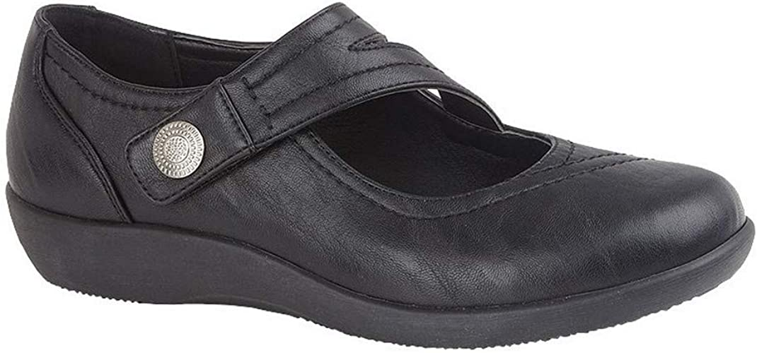 Boulevard Womens Wide Fit Touch