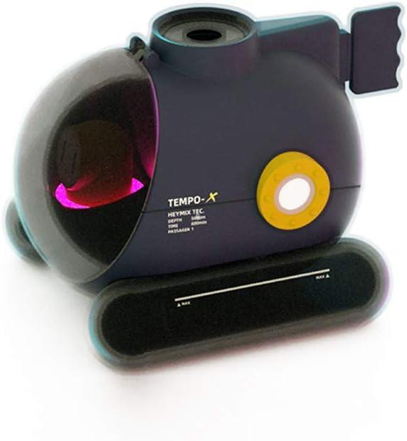 Mini humidificadores de atomización, humidificador de anillo de rociado, humidificador de anillo de escupir música para dormitorio, escritorio, descompresión (gris)