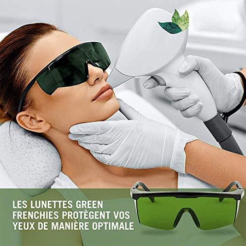 Laser Safety Glasses, IPL Beauty Equipment Glasses Goggles Eyewear Anti Laser Safety Glasses Eyes Protection for Beauty & Cosmetology Eye Protection Laser Protective Eyewear Goggles