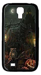 Samsung S4 Case Halloween Scary Horror Gate PC Custom Samsung S4 Case Cover Black