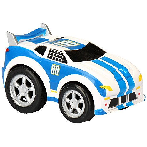 (Kid Galaxy Pull Back 'n Roll Race Car. Wind Up Toy Vehicle for Boys, Girls & Toddlers Age 2 & Up Vehicle, 4