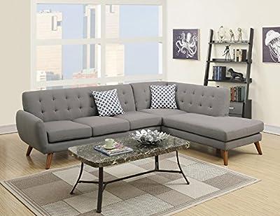 Modern Retro Sectional Sofa