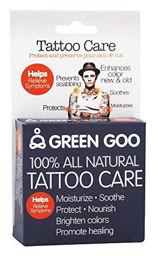 Green Goo All-Natural Skin Care, Tattoo Care, Large Tin, 1.82 Ounce ()