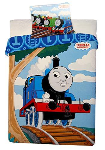 Thomas & Friends Room - Thomas & Friend Duvet Cover and Pillowcase Set,Kids Duvet Cover,135X 100cm