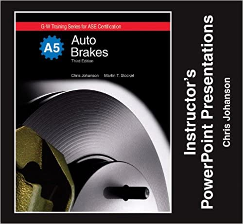 Auto Brakes Instructor's Powerpoint Presentations - Individual