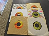 #2: 6 Beatles Vinyl 45's Vinyl from G-VG Check Listing for Info