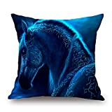 Viola North Horse Throw Pillow Case Best Choice For Dance Room,couch,kids Girls,dance Room,couples With Two Sides