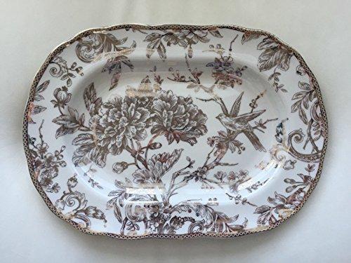 222 Fifth Adelaide Gold Serving Platter ()