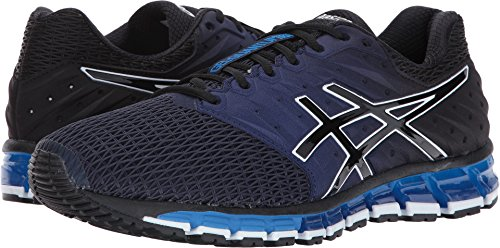 Quantum Lighter (ASICS Men's Gel-Quantum 180 2 Running-Shoes, Peacoat/Black/Directoire Blue, 12.5 Medium US)