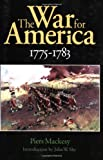 The War for America, 1775-1783, Piers Mackesy, 0803281927