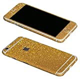All Products : Just Mode(TM)Glittering Style Full Body Bling Glitter Film Sticker Case Cover Protector for Apple iPhone 6 Plus 5.5-Golden