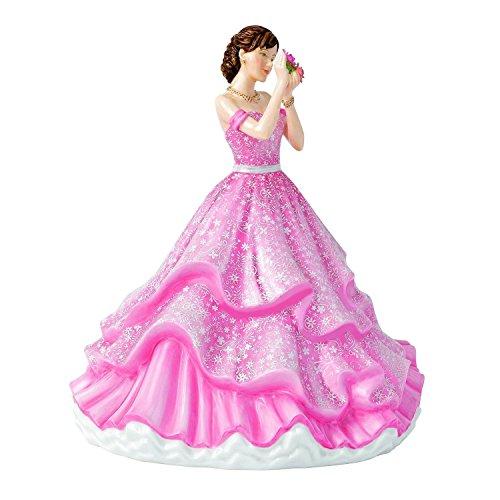 Birthday Figurine Royal Doulton (Royal Doulton Annual Pretty Ladies Happy Birthday 2016 Figurine)