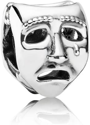 Pandora Silver Theatre Mask Charm 791177, Charms - Amazon Canada