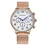 OCHSTIN Men's Watches Quartz Sport Chronographs Stainles Steel Strap
