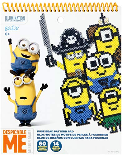 Perler Beads Despicable Me Minions Pattern Pad