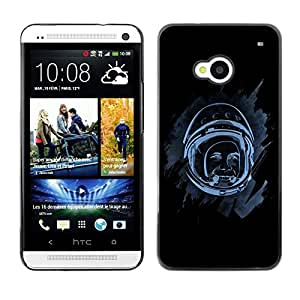 Design for Girls Plastic Cover Case FOR HTC One M7 Space Astronaut OBBA