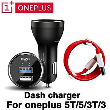 ONEPLUS 3 3T 5 5T Cargador de salpicadero USB rápido ...