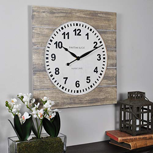 FirsTime & Co 31067 Jackson Square Wall Clock, 15.5