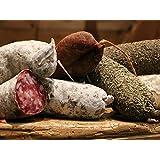 LOT DE 9 SAUCISSONS DE SAVOIE : Pur porc, Fumé, Noisette, beaufort, Poivre, Sanglier, Noix, Fromage de chèvre et Chanterelles