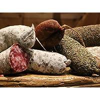 LOT DE 9 SAUCISSONS DE SAVOIE : Pur porc, Fumé, Noisette, beaufort, Poivre, Sanglier, Cèpes, Fromage de chèvre et Noix.