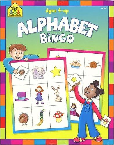 Download Alphabet Bingo Game PDF, azw (Kindle), ePub, doc, mobi