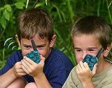 Kids Camping Gear Joyfun Walkie Talkies for Kids Long Range Two Way T-388 Toys for Boys 5-10 Year Old Teen Boys Christmas Birthday Gifts Blue - 1 Pair